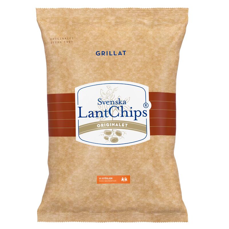 Lantchips Grillat - 15% rabatt
