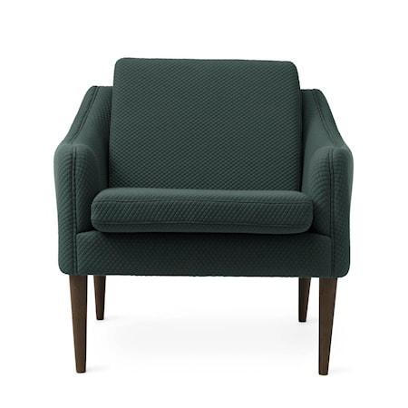 Mr. Olsen Lounge Chair Petrol Smoked Ek