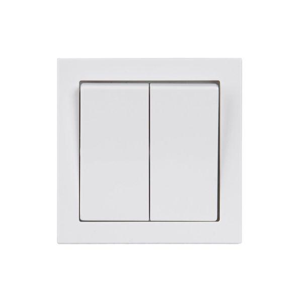 ABB 1065UW-84 Strømstiller IP44, hvit Krone