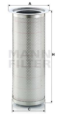 Suodatin, paineilma MANN-FILTER LE 42 002 x