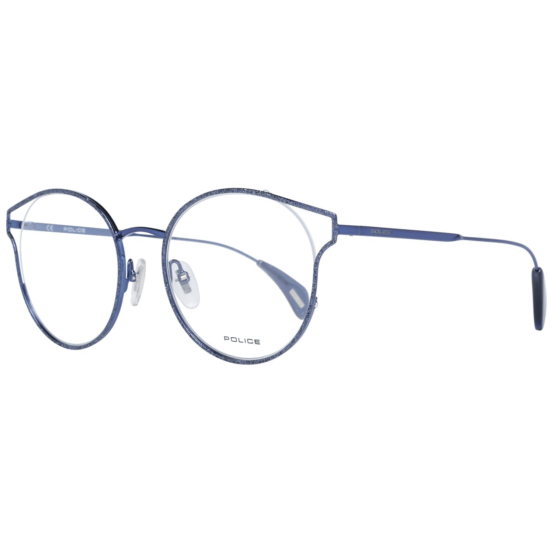 Police Women's Optical Frames Eyewear Blue PL926 500F54