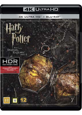 Harry Potter 7 - The Deathly Hallows - Part 1 (4K Blu-Ray)