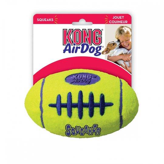 KONG AirDog Squeaker Football (M)