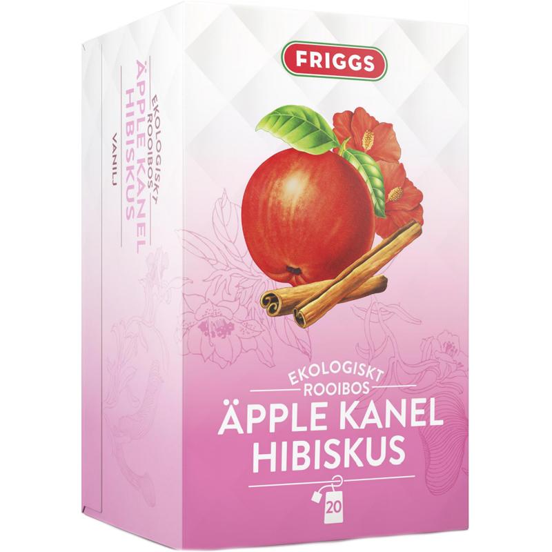 Eko Rooiboste Äpple, Kanel & Hibiskus 20-pack - 81% rabatt