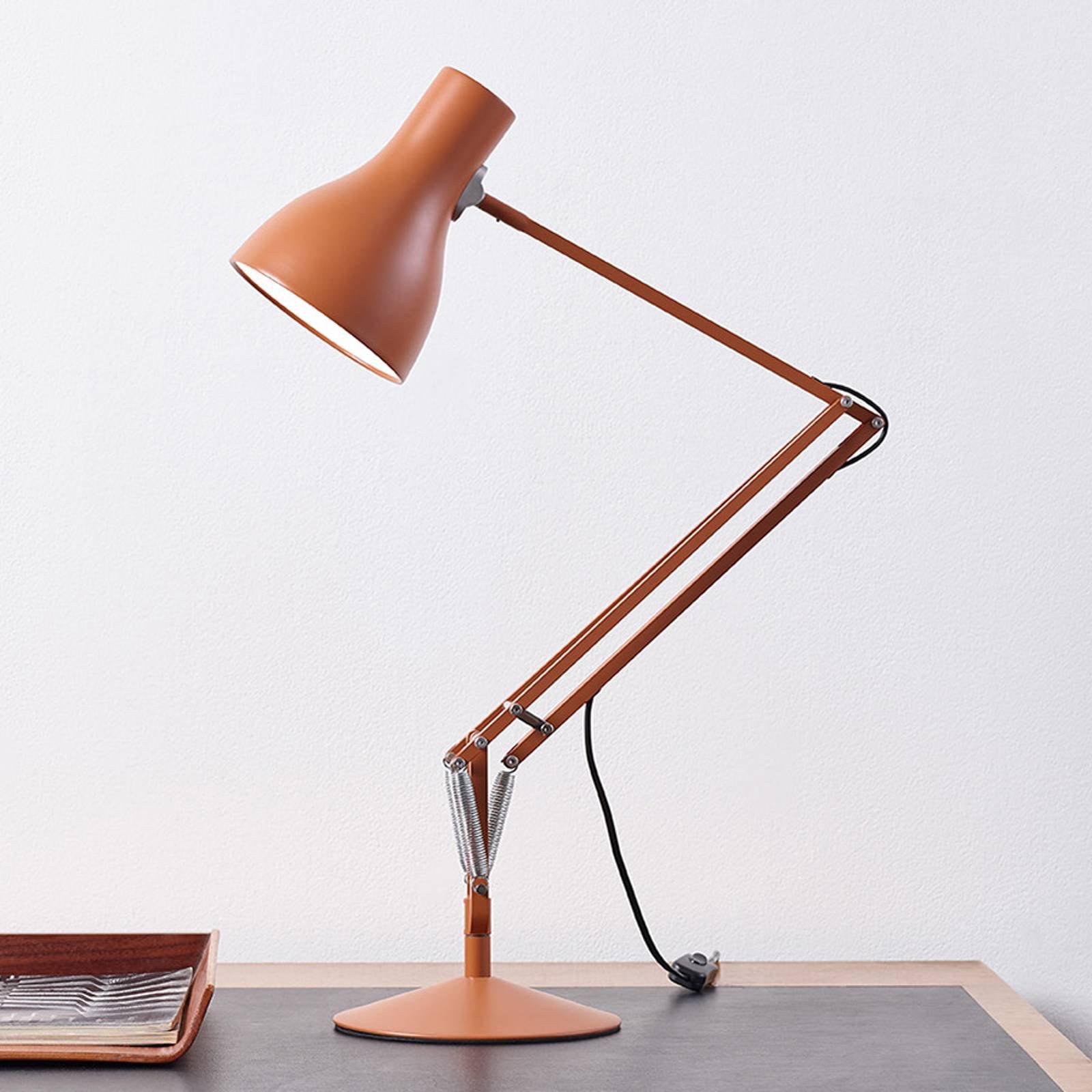 Anglepoise Type 75 bordlampe Margaret Howell rust