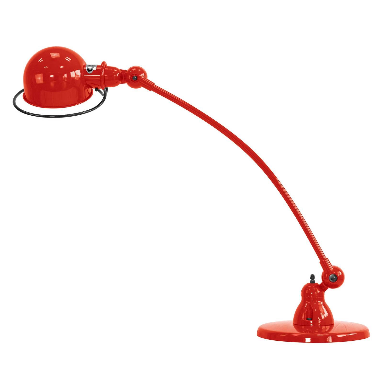 Jieldé Loft C6000 -pöytävalaisin kaareva, punainen