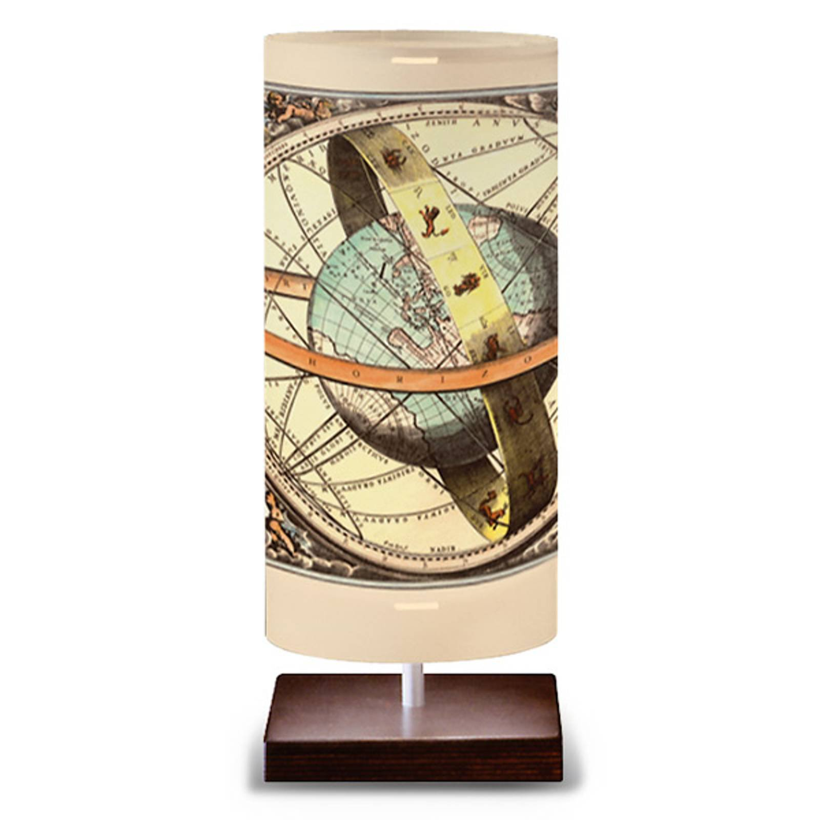 Globe - bordlampe i globus-design