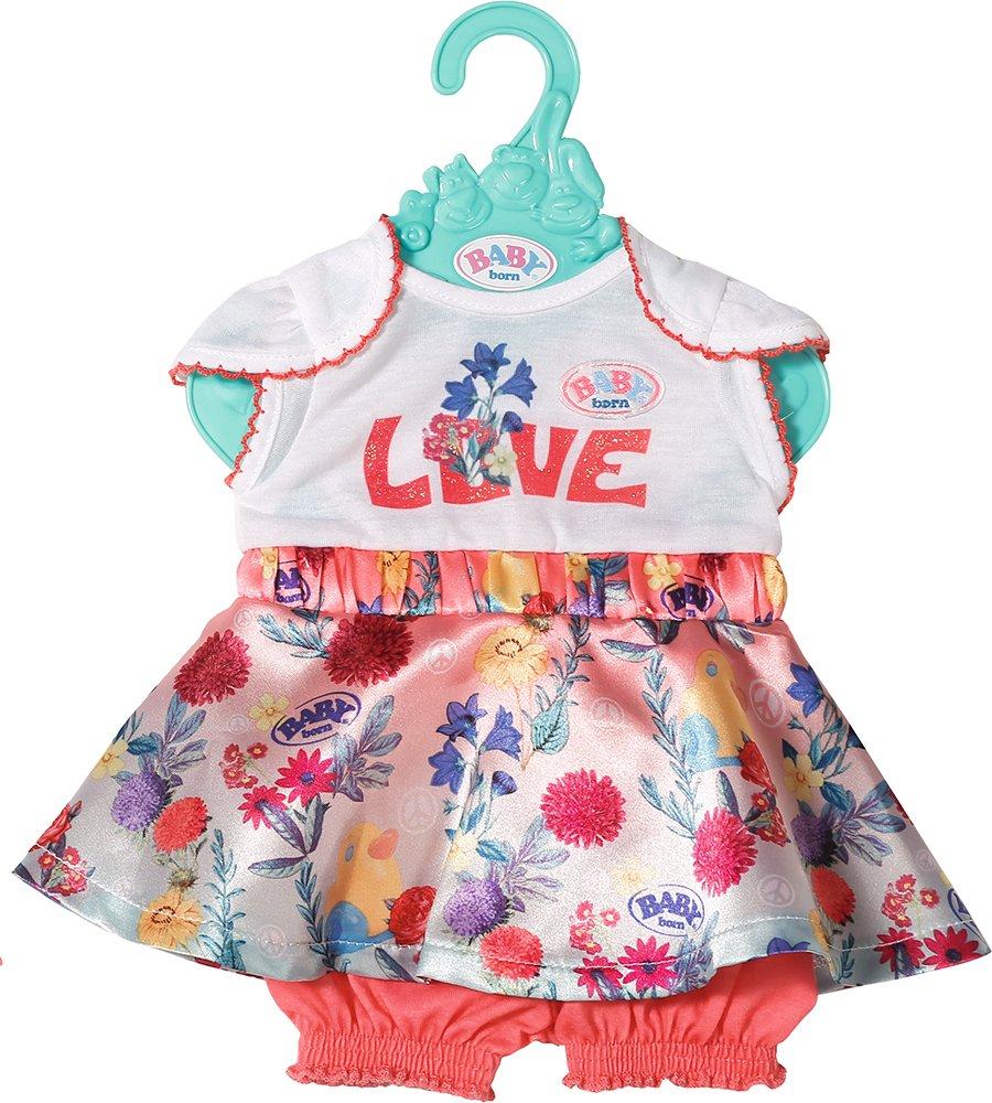Baby Born - Trend Baby Dress - White (826973)