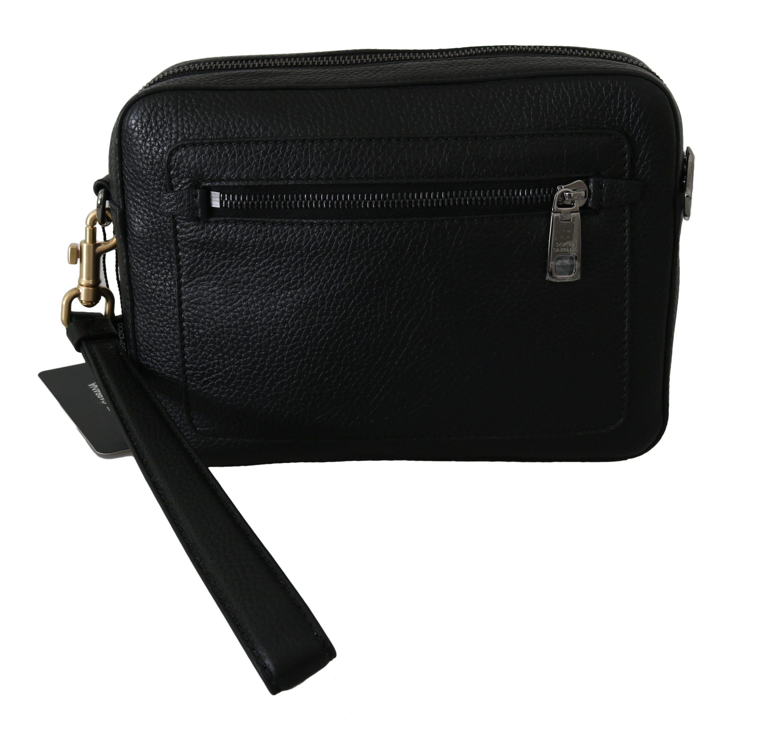 Dolce & Gabbana Men's Leather Wallet Black VAS8754