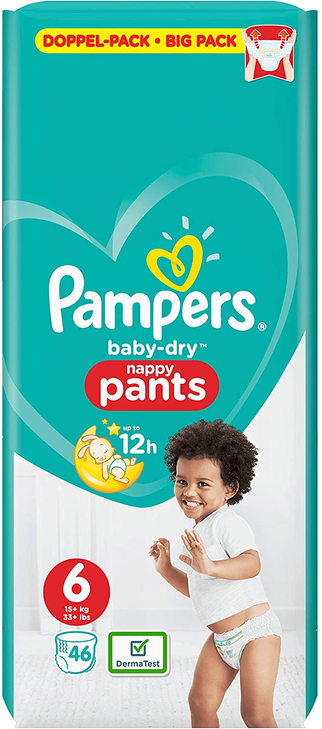 Pampers - Baby Dry Nappies Size 6
