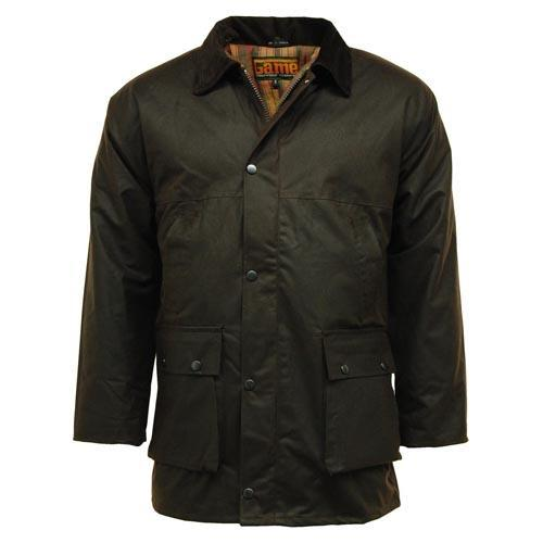 Game Technical Apparel Men's Jacket Various Colours Padded - Brown S