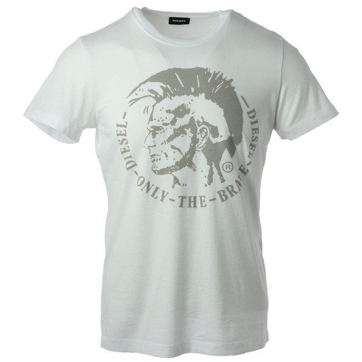 Diesel Men's T-Shirt Various Colours 187816 - white L