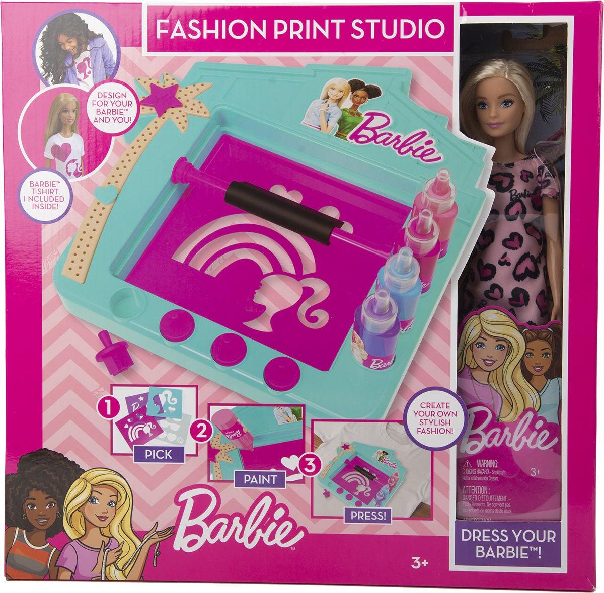 Barbie Muotisuunnittelustudio + Nukke