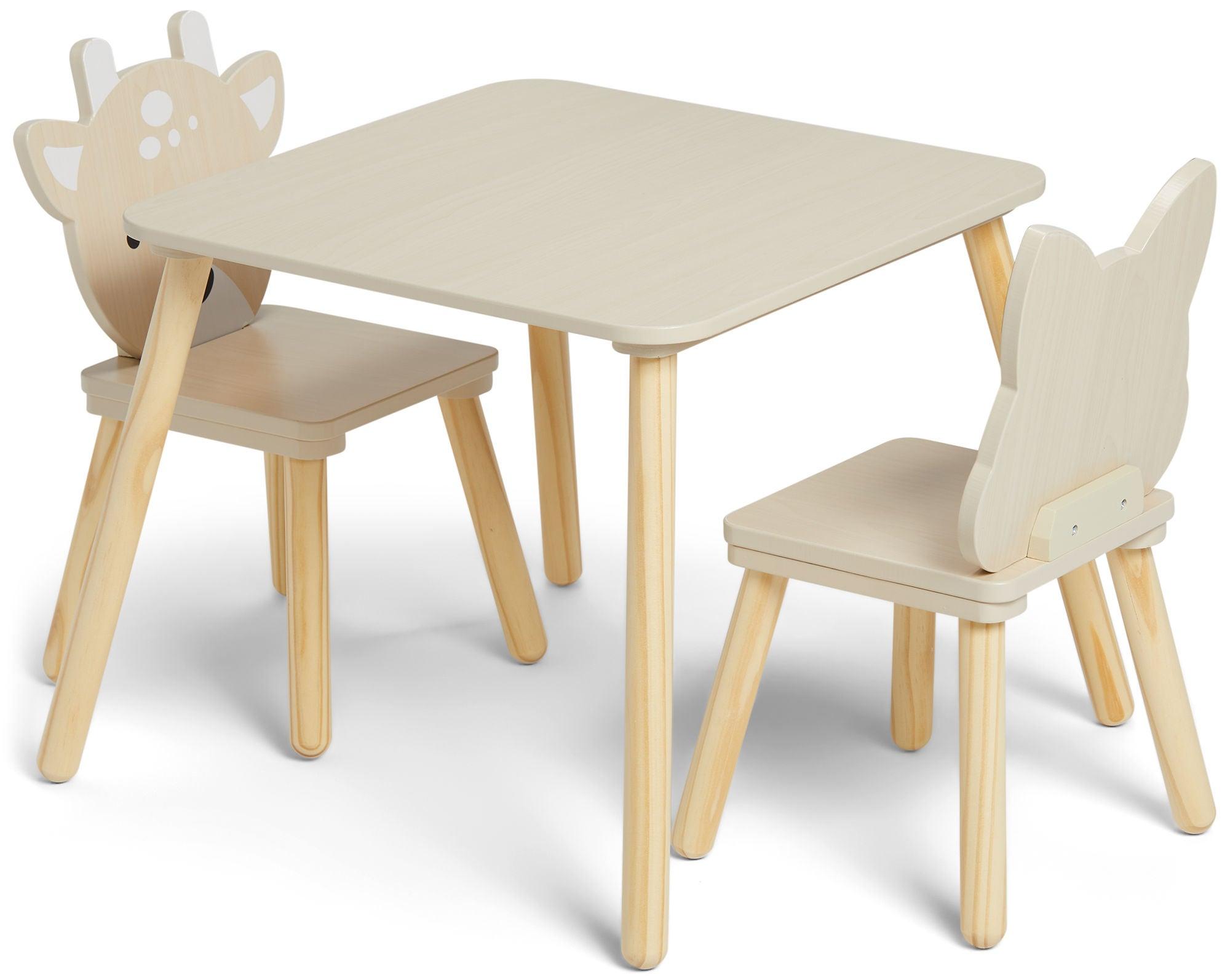 Alice & Fox Pöytä + Tuolit Metsäkauris & Kettu