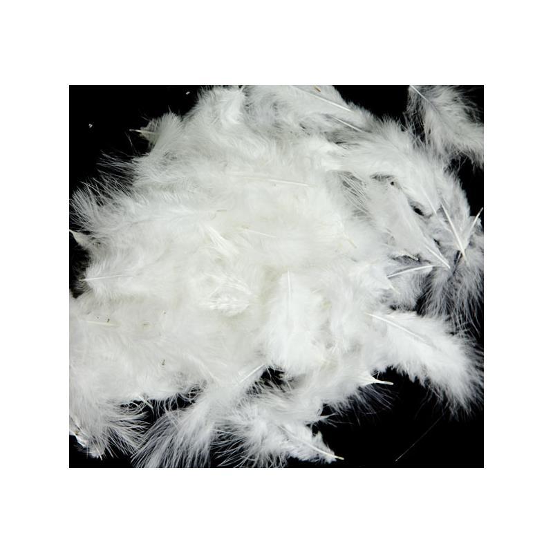 Mini-Marabou - White Wapsi