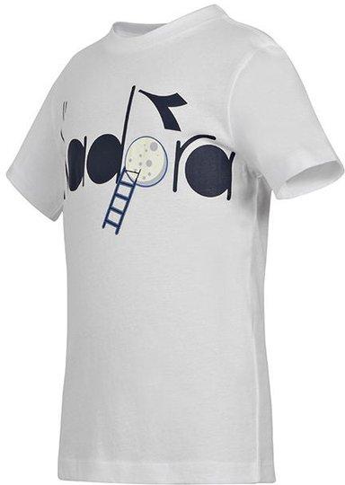 Diadora T-Skjorte, Optical White S