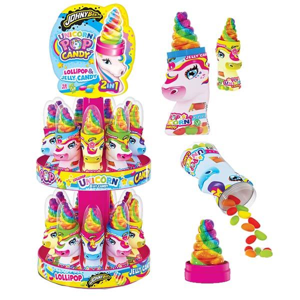 Unicorn Pop Candy 50g x 18 st