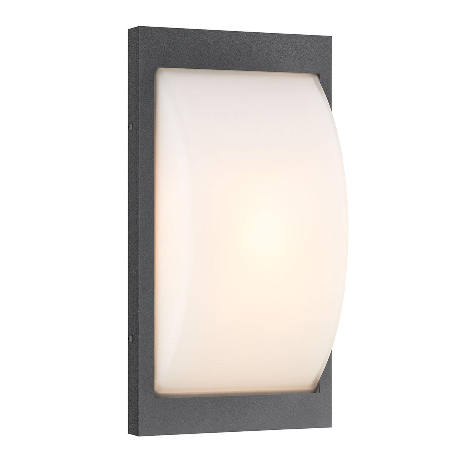 069SEN type utendørs LED-vegglampe grafitt