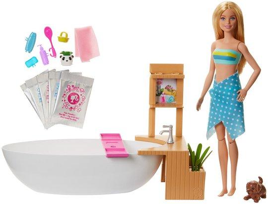 Barbie Wellness Dukke Bathtub