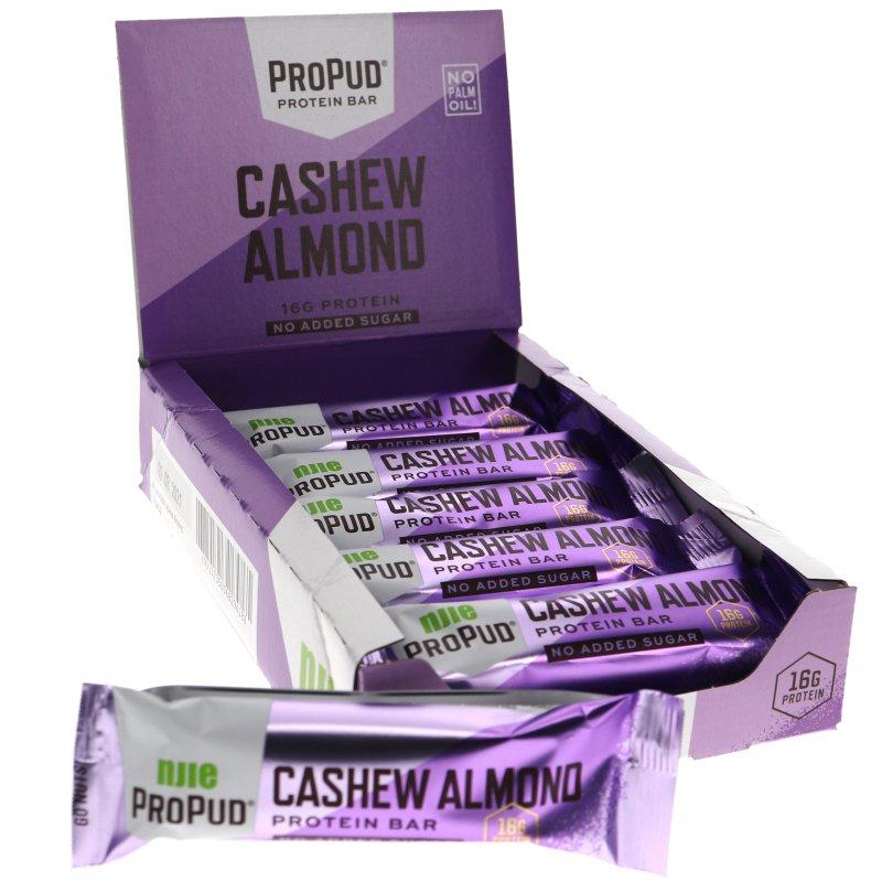 Proteiinipatukat Cashew & Almond 12kpl - 52% alennus