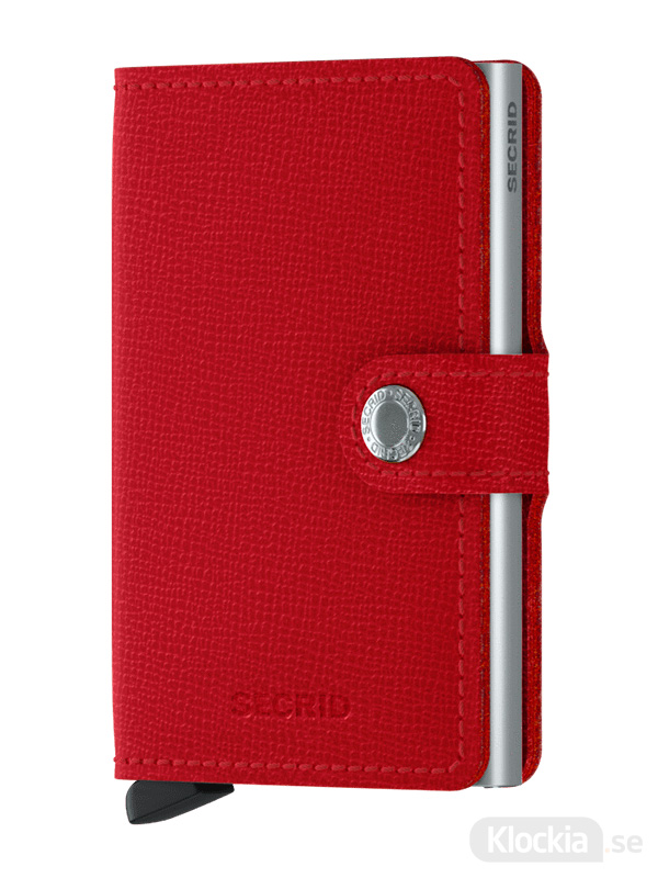 Plånbok SECRID Miniwallet Crisple Red