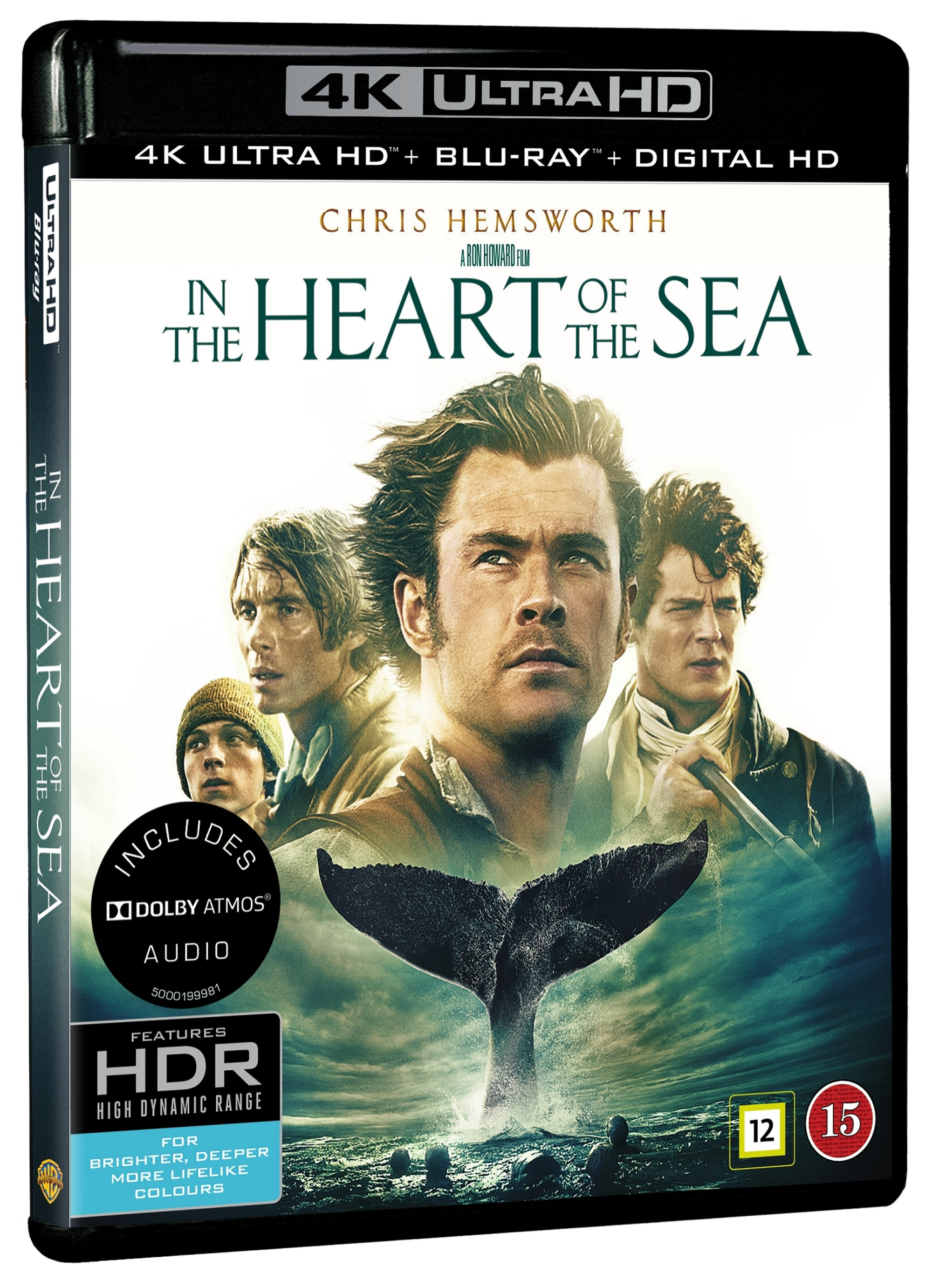 In the heart of the sea (4K Blu-Ray)