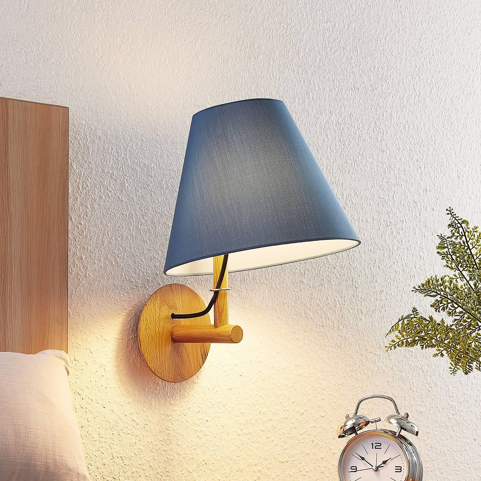 Lucande Jinda -seinälamppu puurunko, kangas