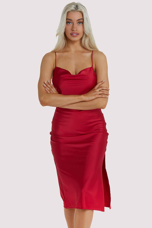 Kilo Brava EXCLUSIVE Red Dress UK 10