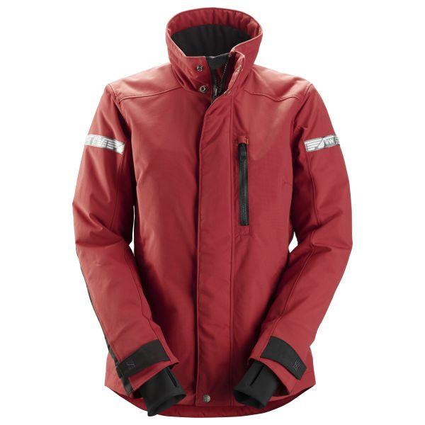 Snickers 1107 AllroundWork Vinterjakke rød XS