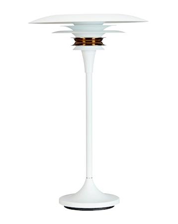 Diablo Bordslampa Vit/Mässing LED 30 cm