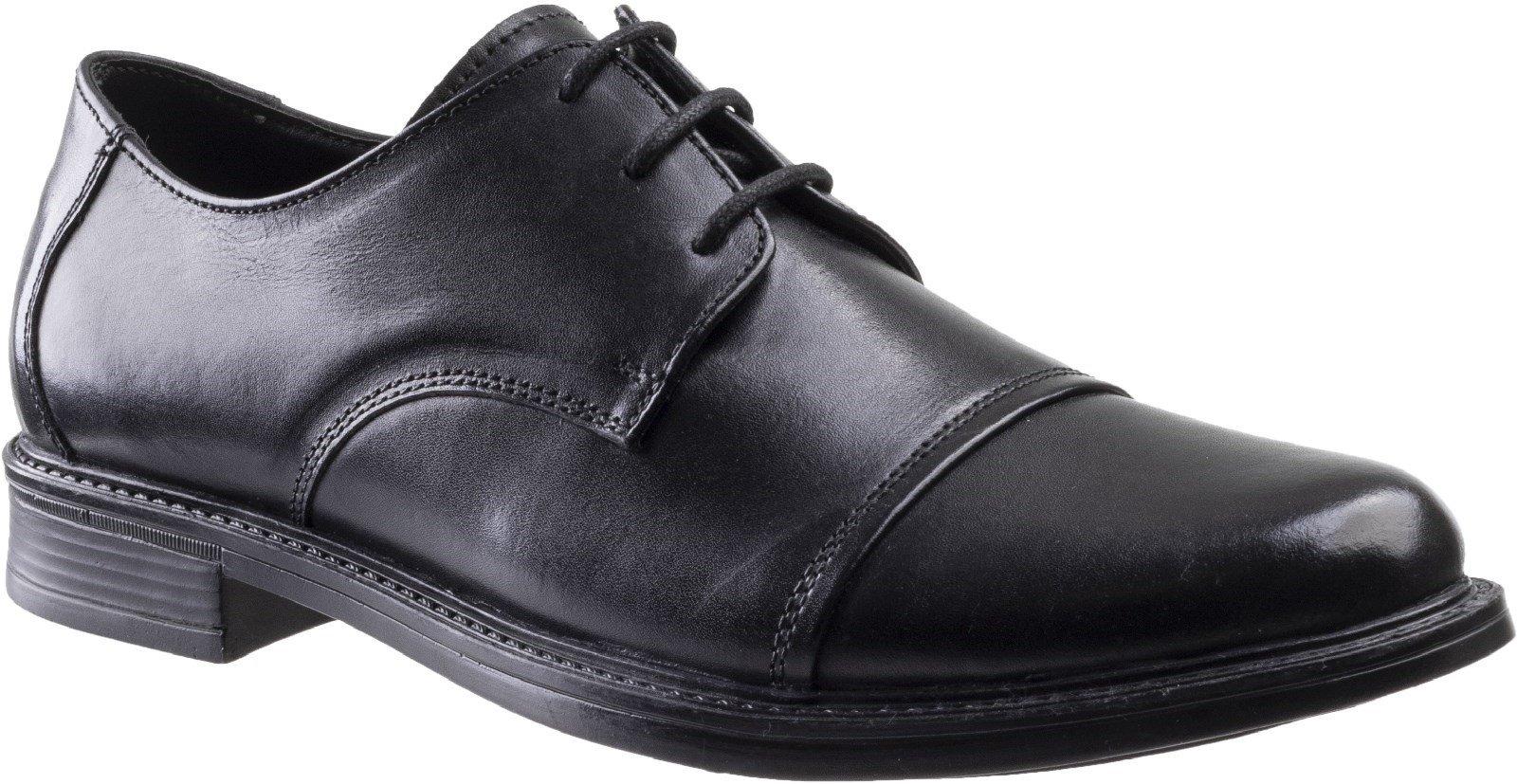 Amblers Men's Bristol Lace Up Shoe Black 30073 - Black 12