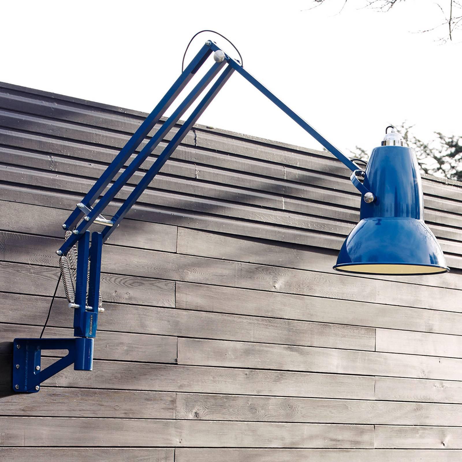 Anglepoise Original 1227 Giant IP65 vegglampe blå