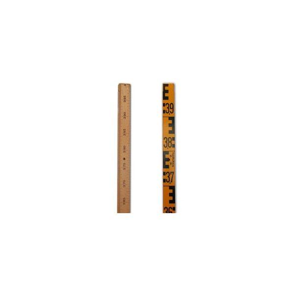 Hyssna 191525126 Nivelleringsstang i tre 4-delt, 4 meter