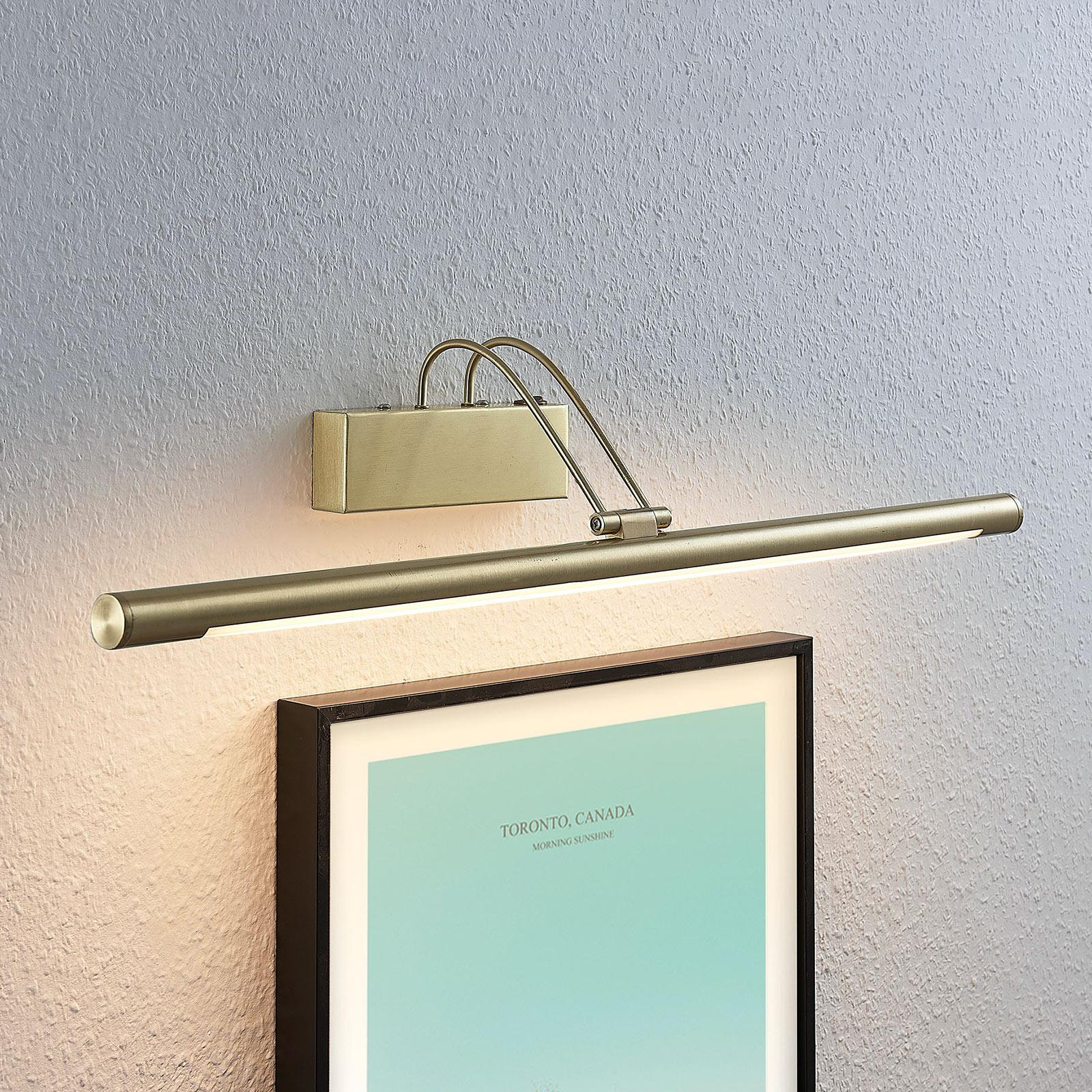 LED-tauluvalaisin Mailine kytkimellä, messinki