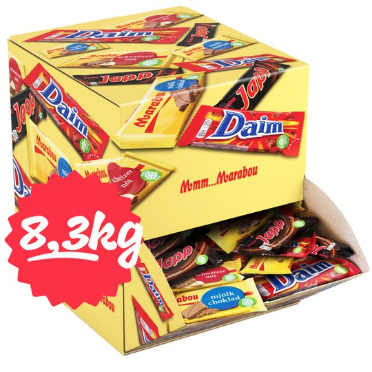 "Hel Låda Godis ""Mixbox"" 8374g - 40% rabatt"