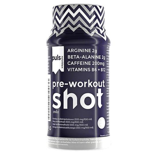 Urheilujuoma Pre-Workout Shot - 50% alennus
