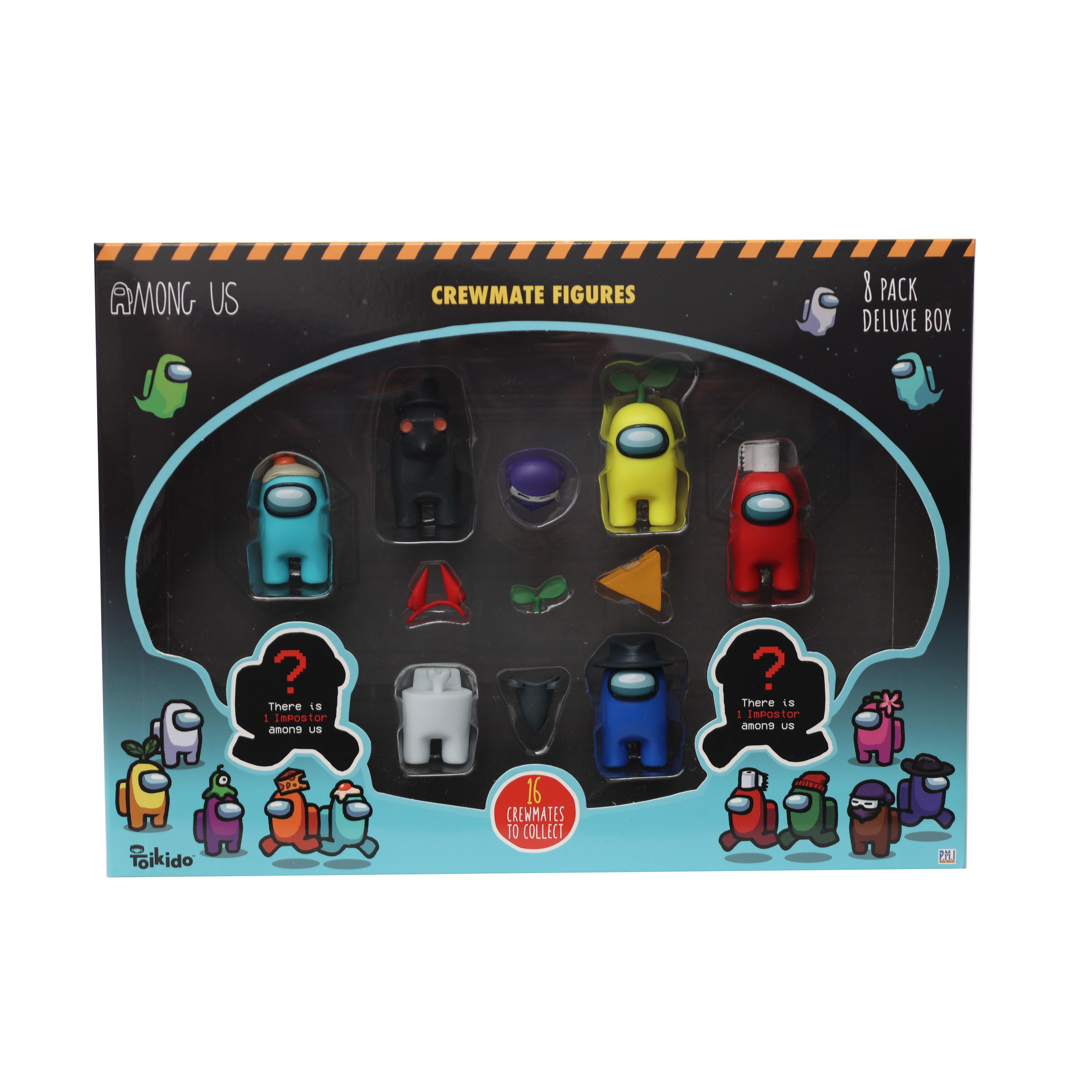 Among Us - Crewmate Figure 8 pack Deluxe assort 2 (2070AU2)