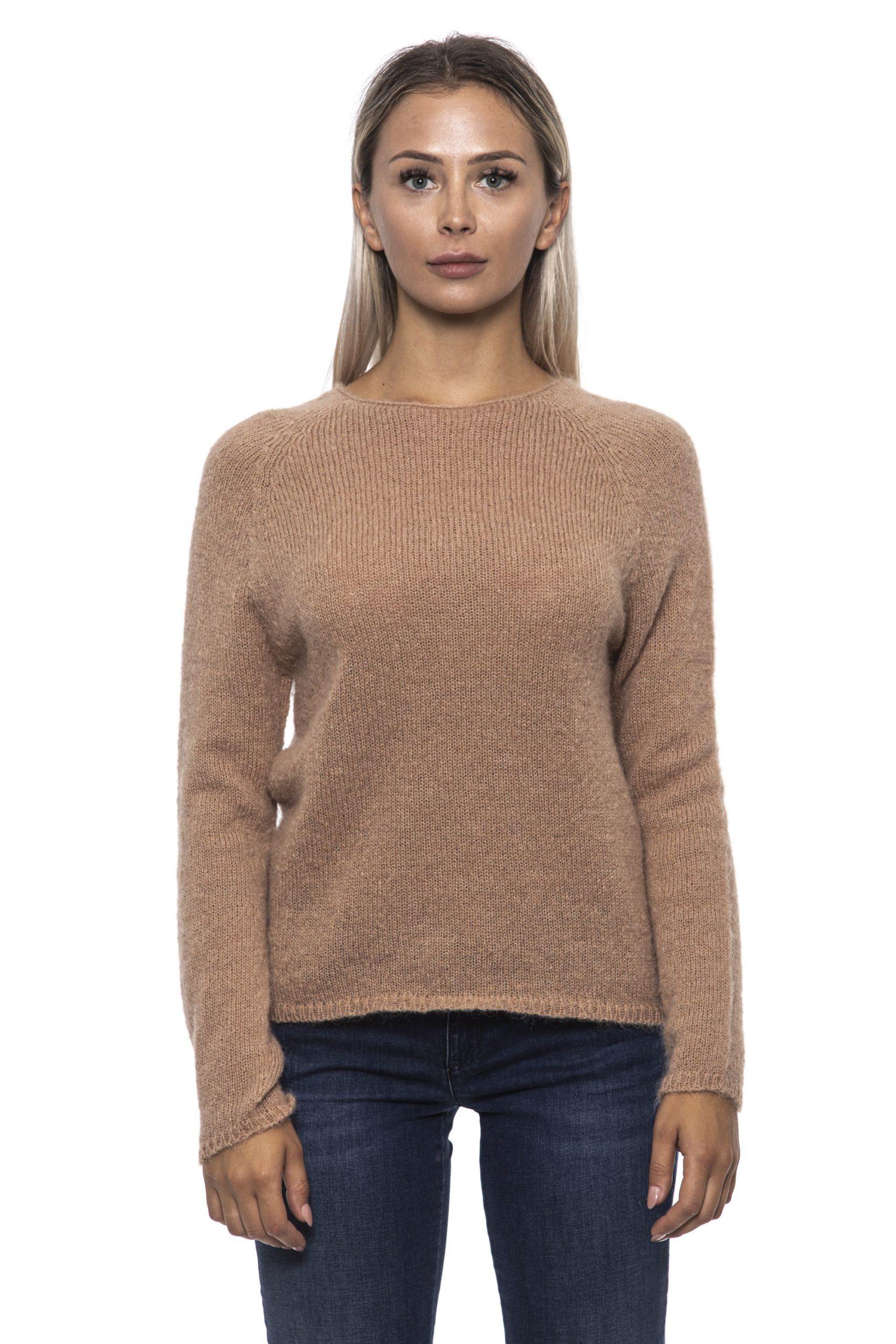 Alpha Studio Women's Miele Sweater Beige AL1314840 - IT42 | S