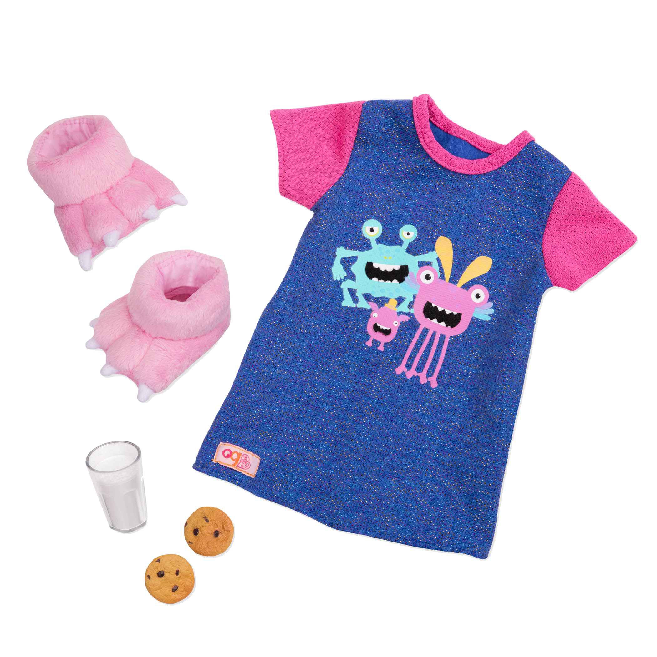 Our Generation - Snuggle Monster Nightdress Set (730371)