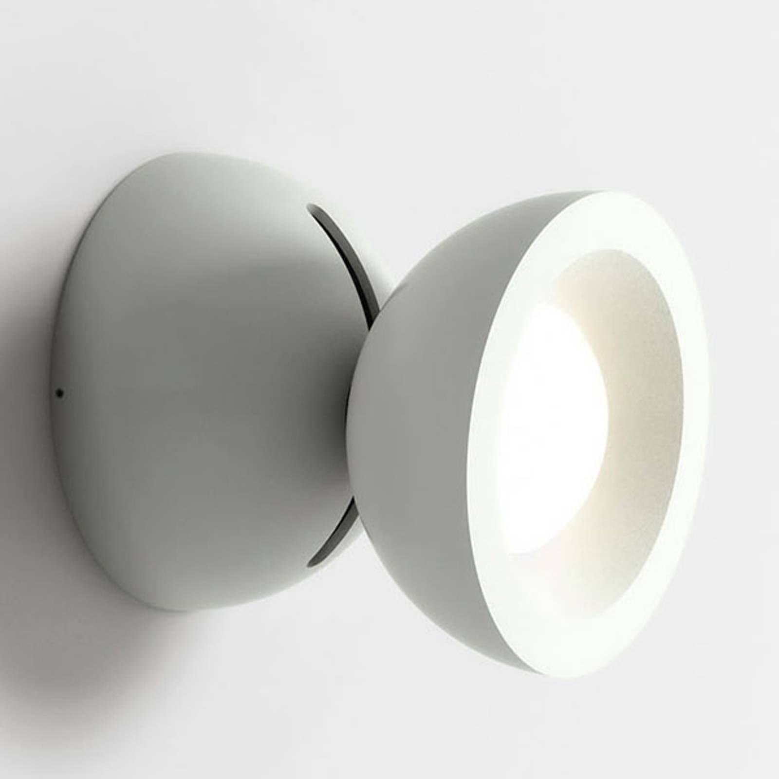 Axolight DoDot LED-vegglampe, hvit 46°