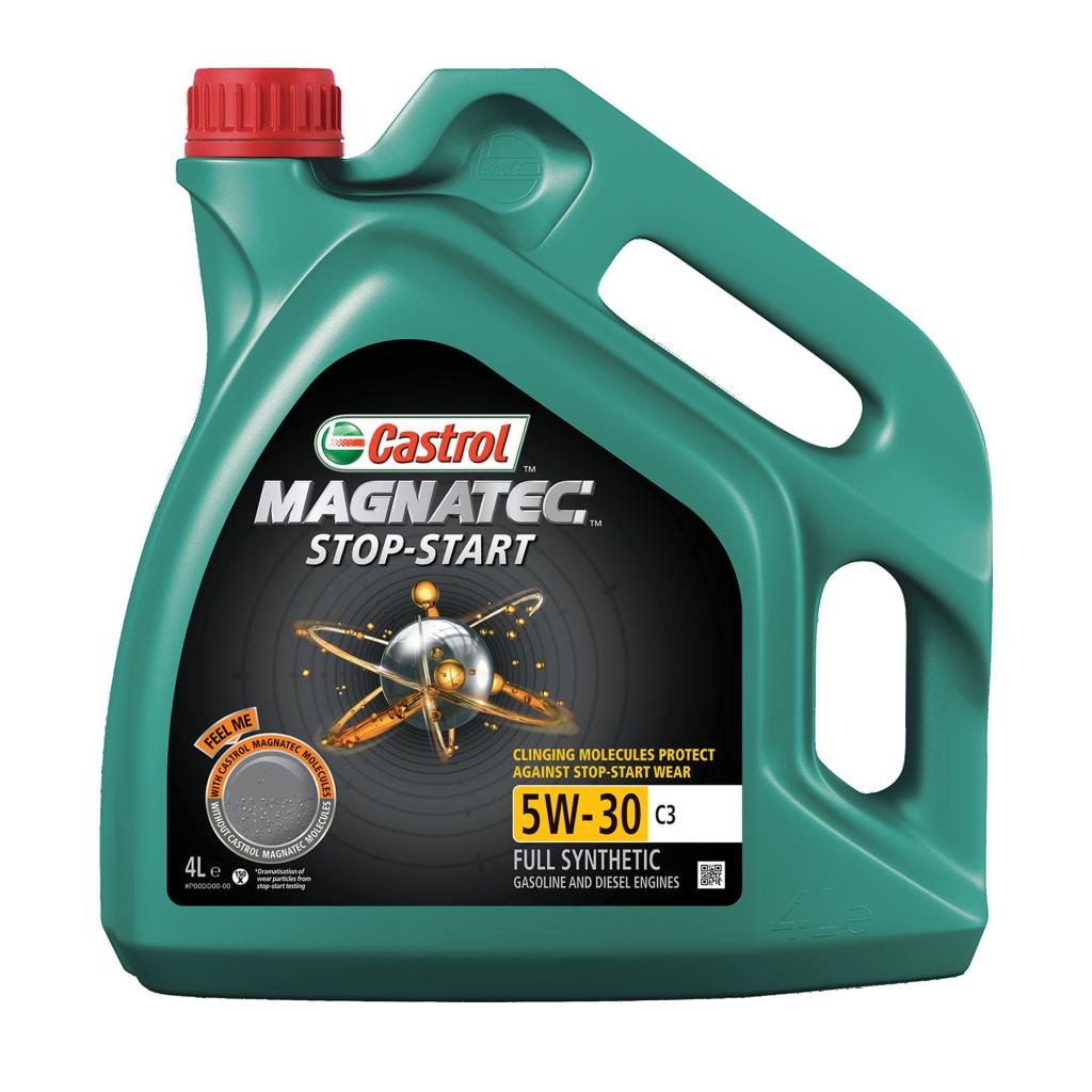 Moottoriöljy CASTROL 5W30 MAGNATEC STOP START C3 4L