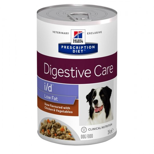 Hill's Prescription Diet Canine i/d™ Digestive Care Low Fat Stew Chicken & Vegetables 354 g