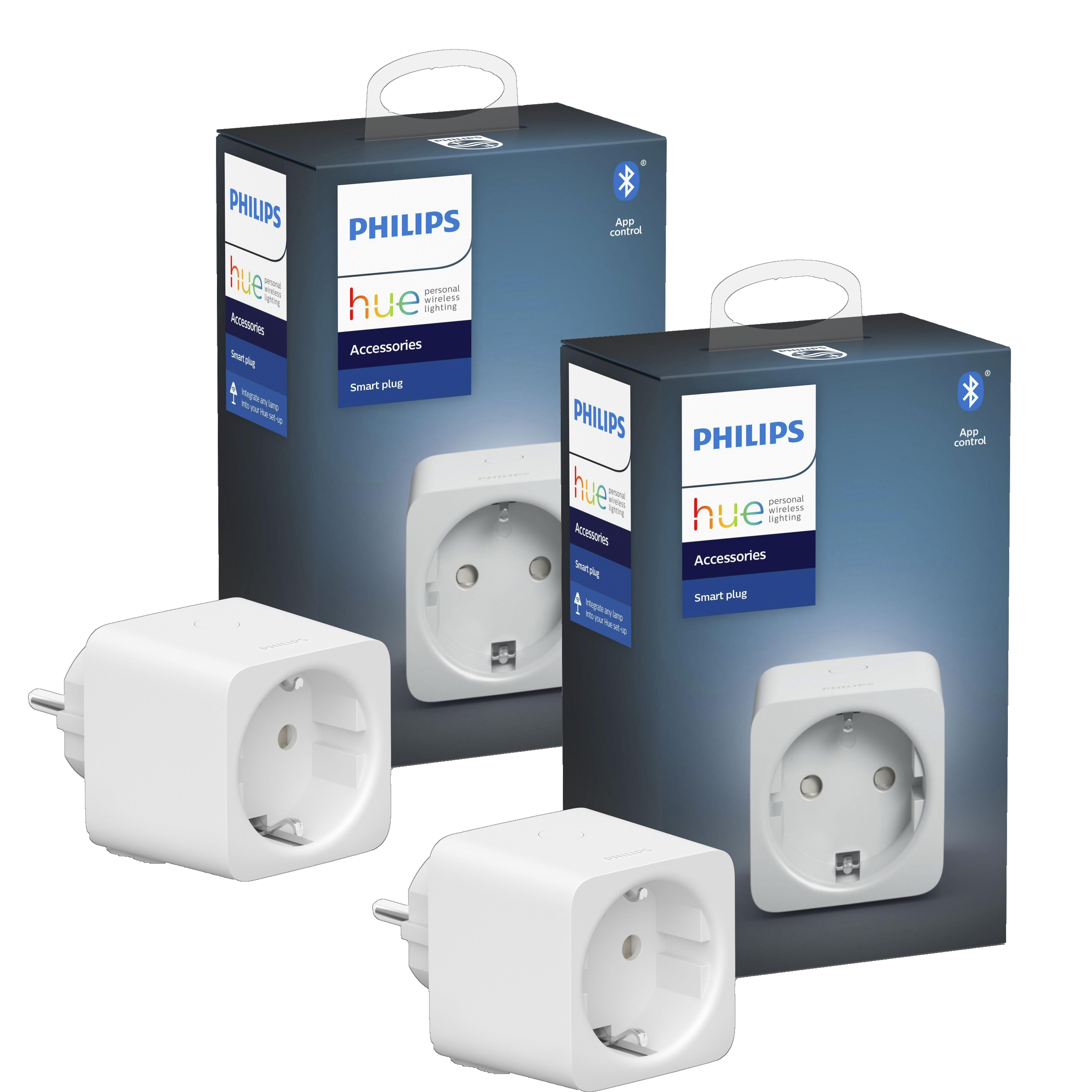 Philips Hue - 2xSmart Plug EU Bundle