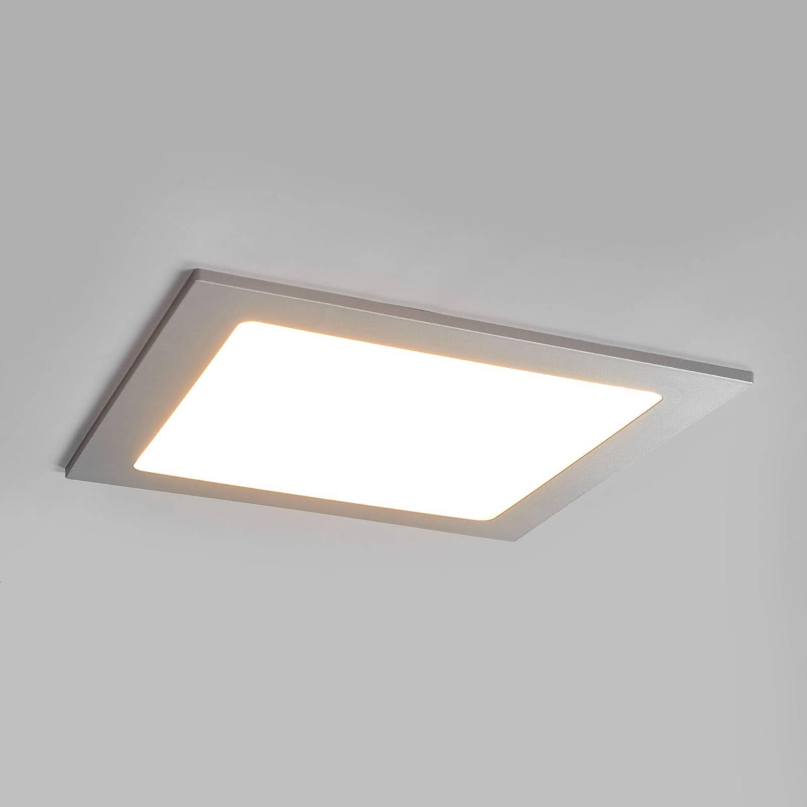 LED-kohdevalo Joki hopea 3 000 K kulmikas 22 cm
