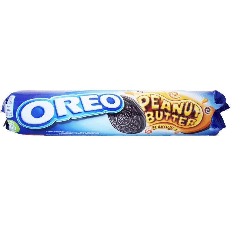 """Kakor """"Oreo Peanut Butter"""" 154g - -1% rabatt"""
