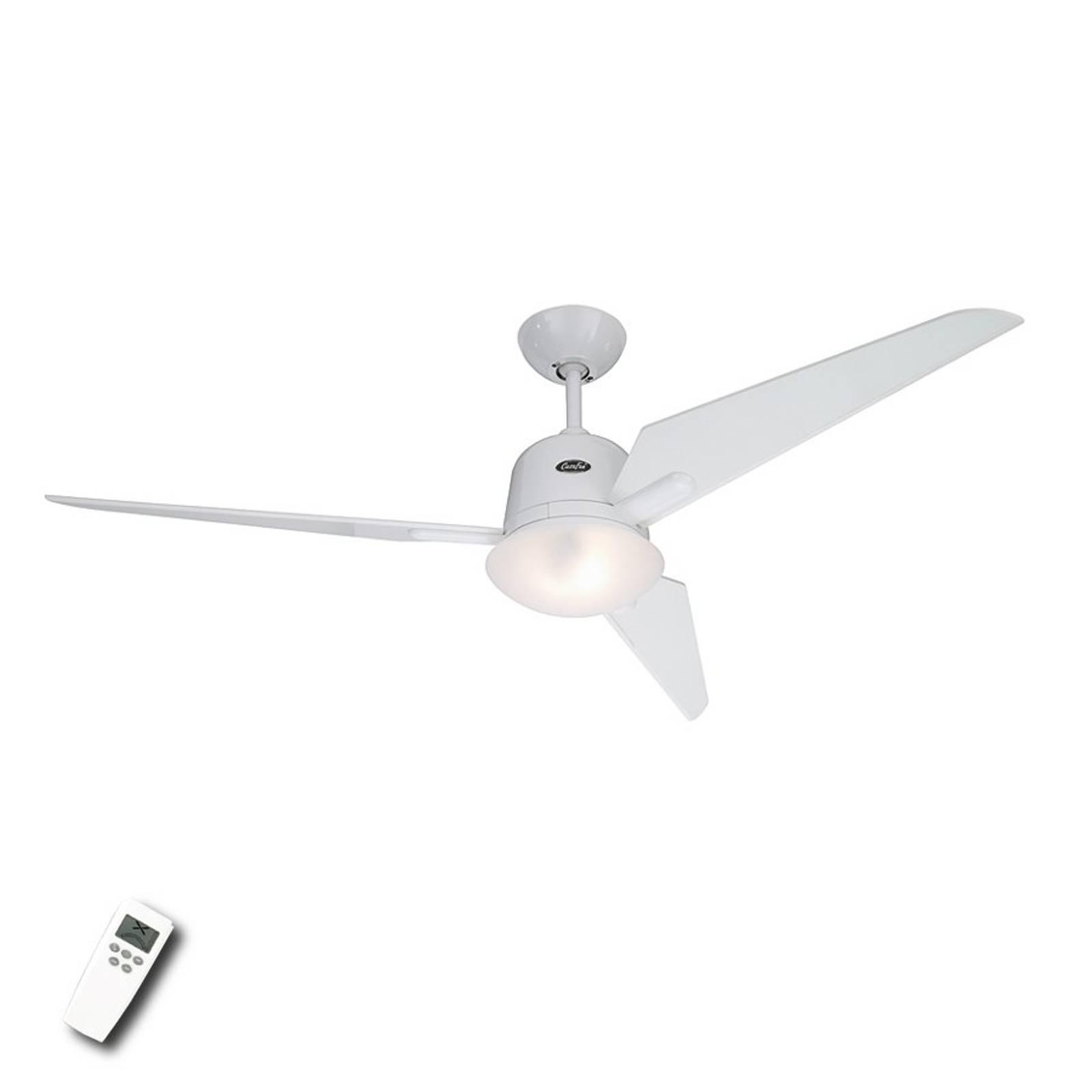 Eco Aviatos -kattotuuletin, valkoinen 132 cm
