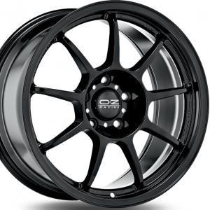 OZ Alleggerita HLT Gloss Black 7x16 4/100 ET42 B68
