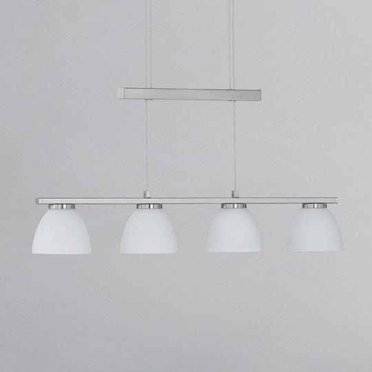 Himmennettävä LED-riippuvalaisin Ava, 4-lamppuinen