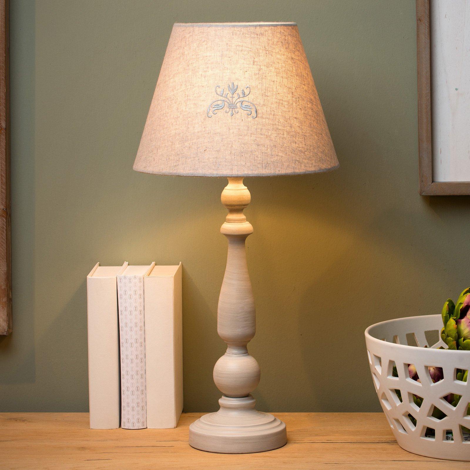 Robin bordlampe, høyde 53,5 cm