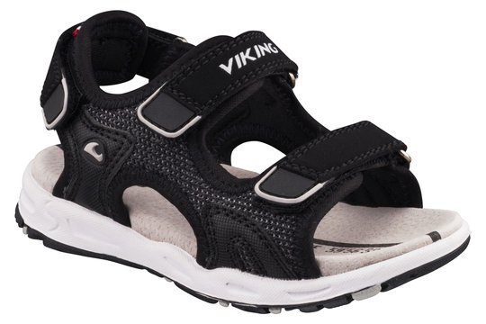 Viking Anchor II Sandal, Black/Grey 25